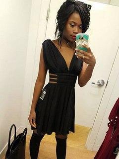 Amina, black